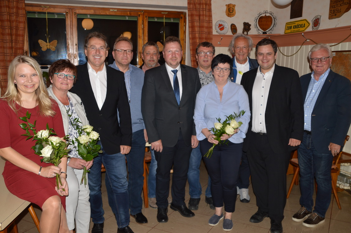 Vorstandschaft mit Neuerungen: Ramona Hofmann übergibt an Bianka Klein