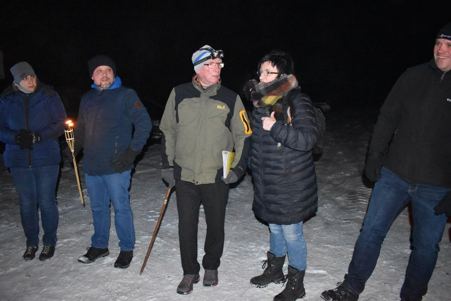 Winterwanderung am Döbraberg